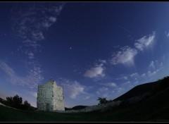 Fonds d'écran Constructions et architecture Château et météore