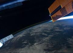 Fonds d'écran Espace Météorite vue de l'espace