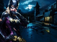 Fonds d'écran Comics et BDs Batgirl Under the Rain