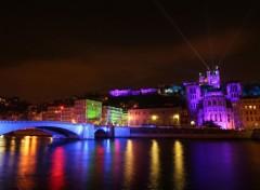 Fonds d'écran Voyages : Europe Lyon le 8 décembre 2006