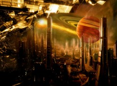 Wallpapers Fantasy and Science Fiction science fiction city