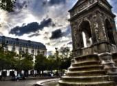 Wallpapers Trips : Europ Fontaine à paris (HDR)
