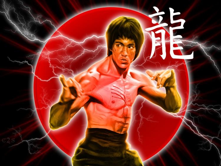 Fonds d'écran Célébrités Homme Bruce Lee Bruce Lee - Dragon