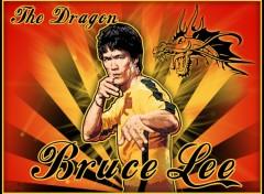 Fonds d'écran Célébrités Homme The Dragon Bruce Lee