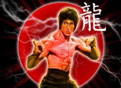 Fonds d'écran Célébrités Homme Bruce Lee - Dragon