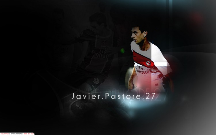 Wallpapers Sports - Leisures Football - PSG Javier Pastore