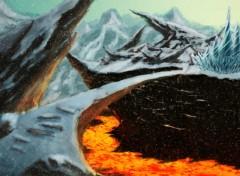 Fonds d'écran Art - Numérique death mountain