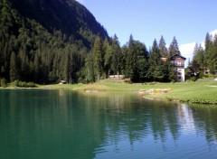Fonds d'écran Nature lac de montrion