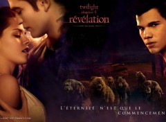 Wallpapers Movies Fond d'écran Breaking Dawn (teaser posters)