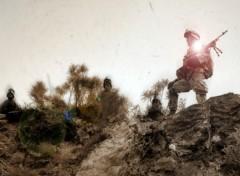Fonds d'écran Hommes - Evênements Soldiers in spare time