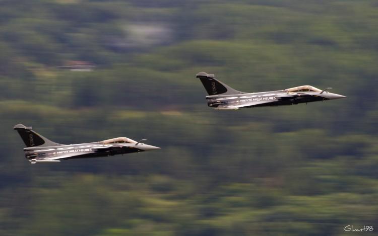 Wallpapers Planes Airshows Dassault Rafales