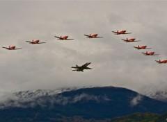 Fonds d'écran Avions Patrouille Suisse
