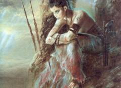 Fonds d'écran Art - Peinture La espera