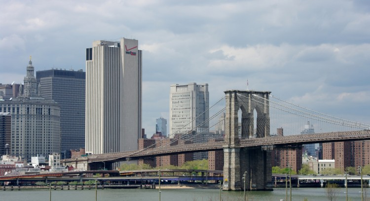 Fonds d'écran Voyages : Amérique du nord Etats-Unis New York - Pont de Brooklyn