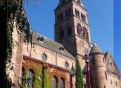 Fonds d'écran Constructions et architecture Eglise de Munster (68)