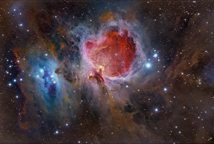 Wallpapers Space Stars - Nebulae Grande nébuleuse d'Orion