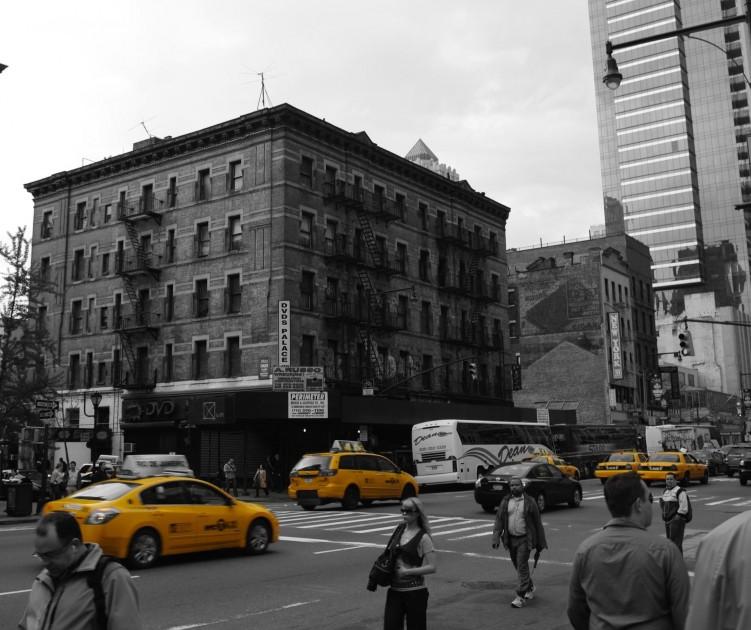 Fonds d'écran Voyages : Amérique du nord Etats-Unis New York - Scène de rue