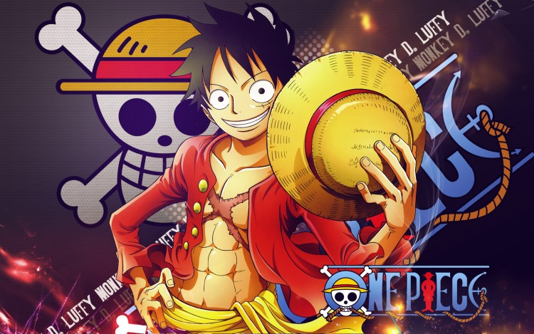 Wallpapers Manga One Piece Luffy - 2 Y later