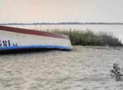 Fonds d'écran Bateaux bateau au bord de l'etang