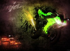 Fonds d'écran Motos Kawasaki ZX10-R