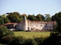 Fonds d'écran Constructions et architecture chateau de la Garo .Loire 42