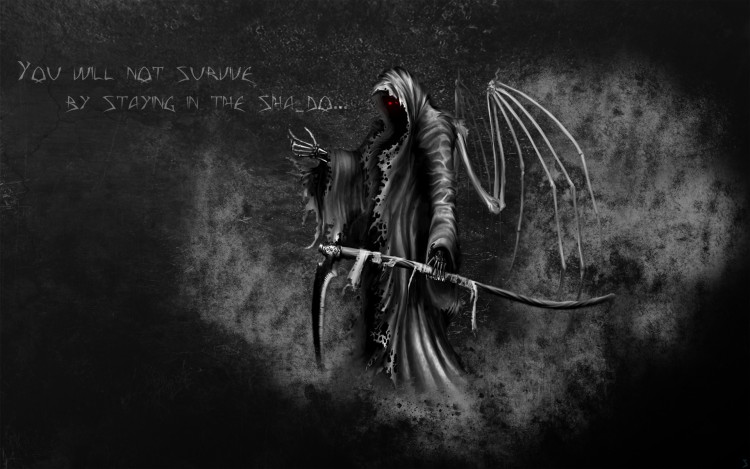 Wallpapers Digital Art Hell You will not survive by staying in the Sha_do