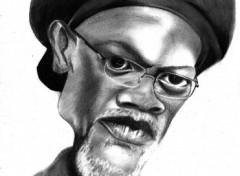 Fonds d'écran Art - Crayon Samuel Lee Jackson