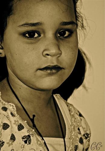 Fonds d'écran Voyages : Amérique du sud Brésil enfant triste