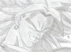 Wallpapers Art - Pencil Broly