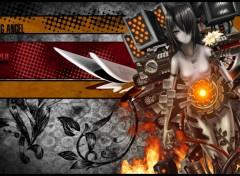 Fonds d'écran Manga Cyborg Angel