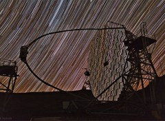 Fonds d'écran Espace Trainées d'étoiles