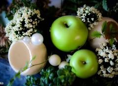 Wallpapers Objects Pot pourri avec pommes