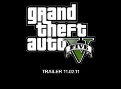 Wallpapers Video Games L'annonce du Trailer de GTA V !