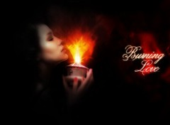 Wallpapers Digital Art Burning Love