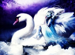 Wallpapers Fantasy and Science Fiction Swan Lake