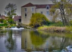 Fonds d'écran Constructions et architecture Perrigny sur Armançon : le moulin
