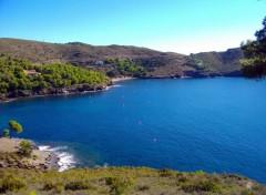 Wallpapers Nature crique sur la costa brava (espagne)