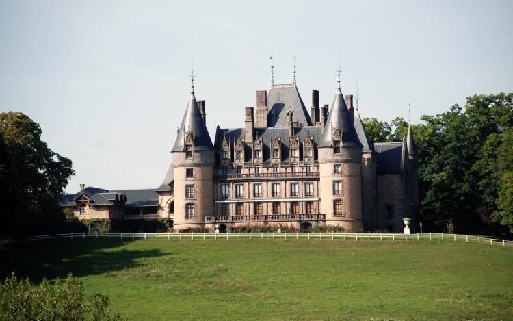 Fonds d'écran Constructions et architecture Châteaux - Palais chateau de Contenson ,Loire 42