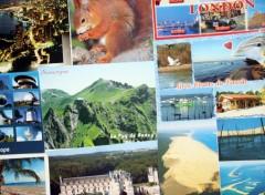 Fonds d'écran Objets Carte postale