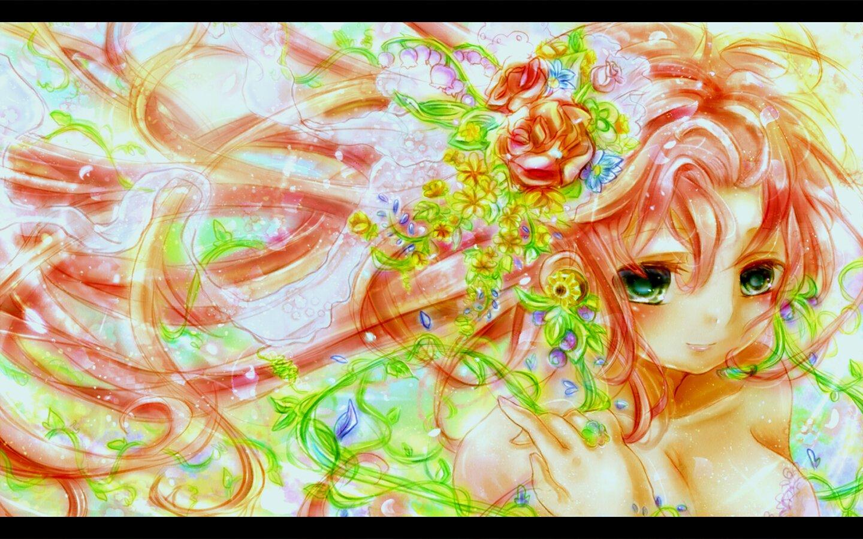 Fonds d'écran Manga Vocaloïds Megurine Luka