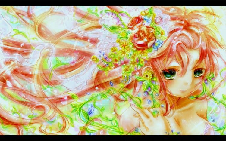 Wallpapers Manga Vocaloïds Megurine Luka