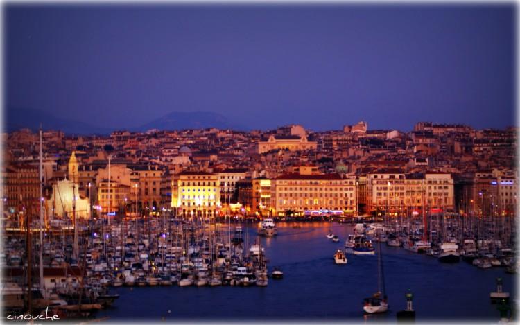 Wallpapers Trips : Europ France > Provence-Alpes-Côte d'Azur Vieux port - Marseille