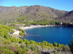 Fonds d'écran Nature crique sur la costa brava