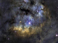 Wallpapers Space NGC 7822
