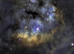 Fonds d'écran Espace NGC 7822
