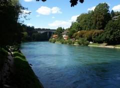 Fonds d'écran Voyages : Europe Paysage de Bern