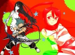 Fonds d'écran Manga black star et tsubaki