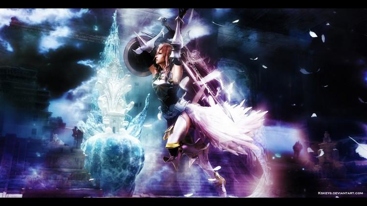 Fonds d'écran Jeux Vidéo Final Fantasy XIII-2 Final Fantasy XIII-2 Lightning