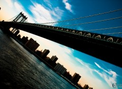 Wallpapers Trips : North America New York - Manhattan Bridge