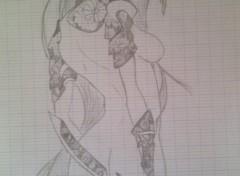 Wallpapers Art - Pencil Aya - Enfer et paradis